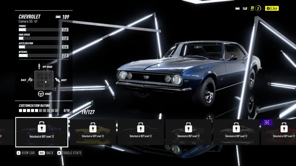 CHEVROLET Camaro SS '67