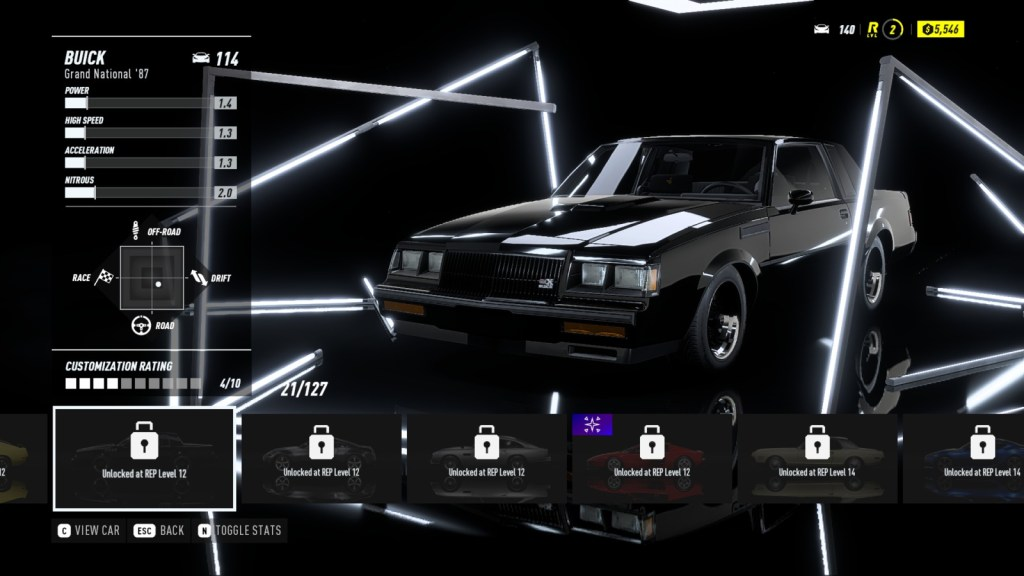 BUICK Grand National '87