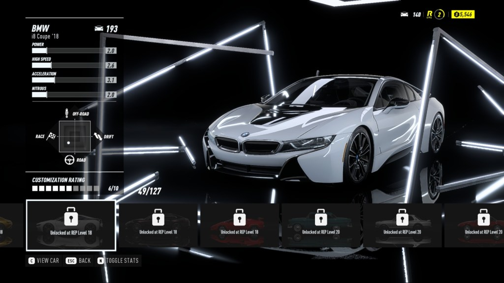 BMW i8 Coupé '18