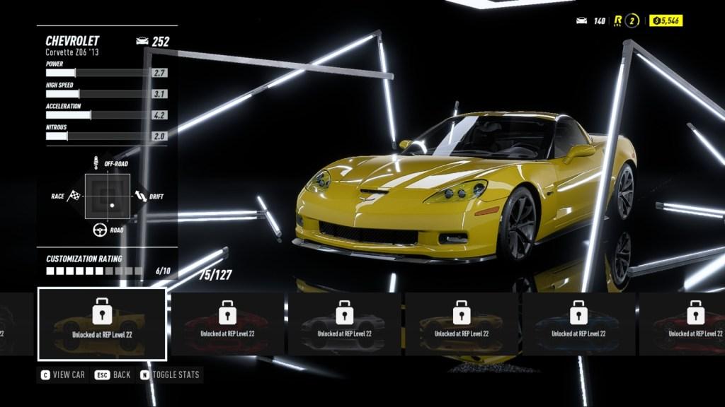 CHEVROLET Corvette Z06 '13