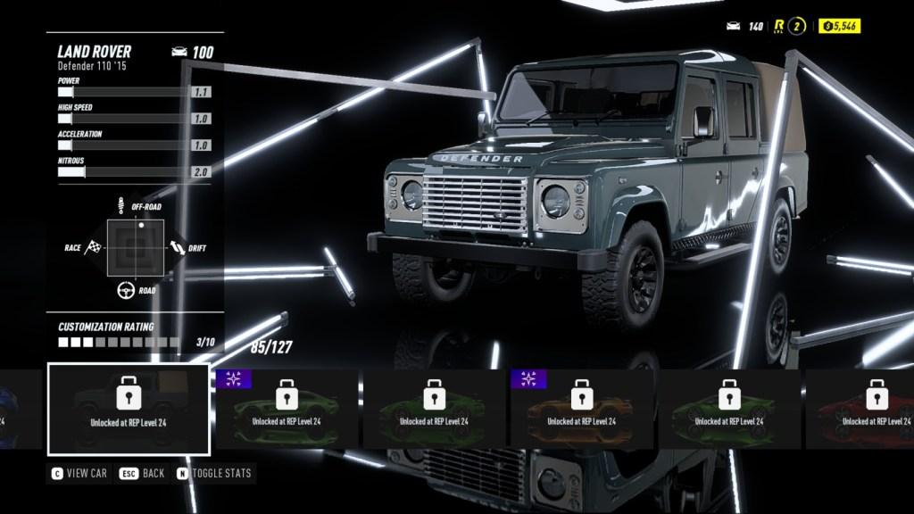 LAND ROVER Defender 110 '15