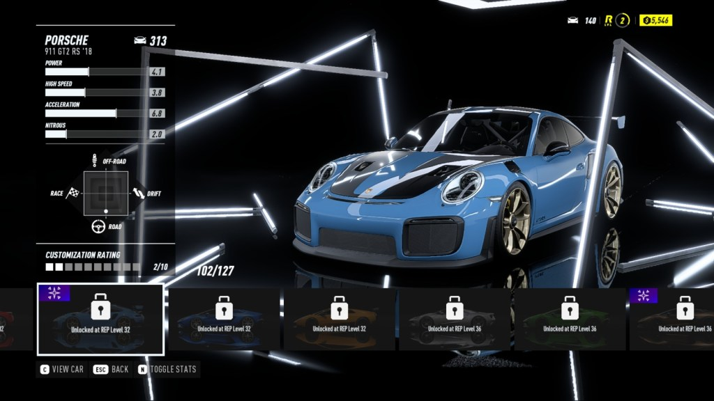 PORSCHE 911 GT2 RS '18