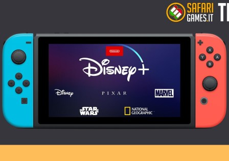 Disney+ Nintendo Switch