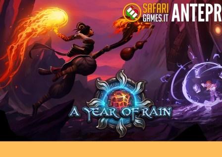a year of rain logo