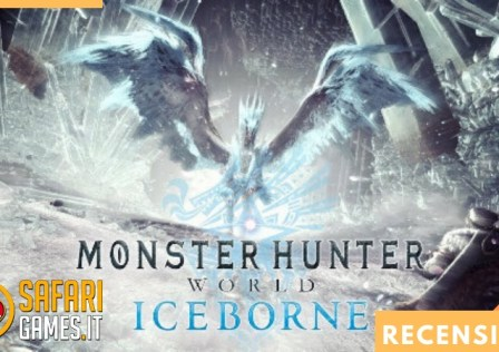 Recensione Monster Hunter World ICEBORNE