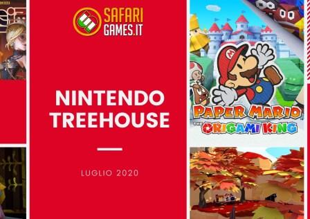 Nintendo Treehouse luglio 2020
