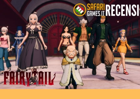 Fairy Tail Playstation recensione