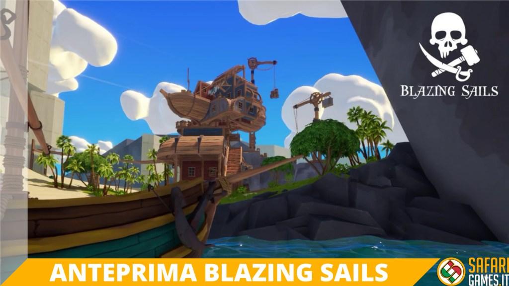 Blazing Sails anteprima