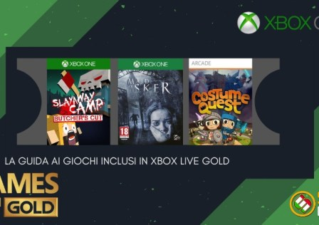 Games with Gold ottobre 2020