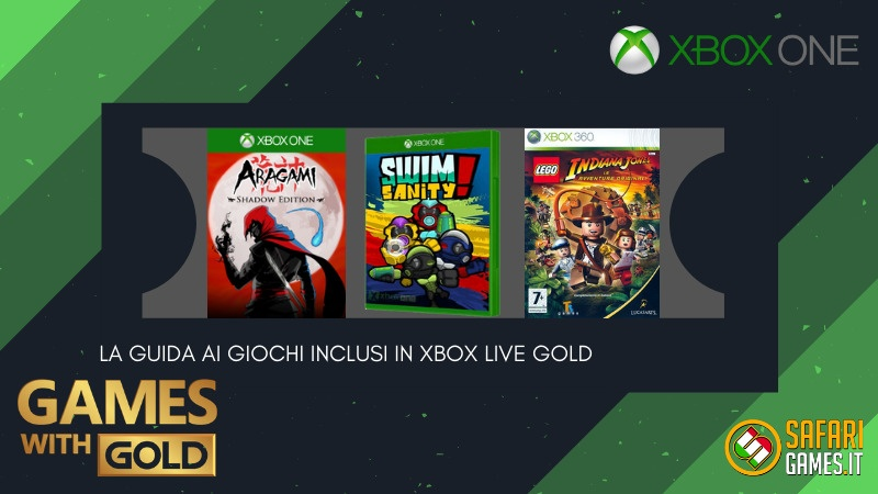 Games with Gold novembre 2020