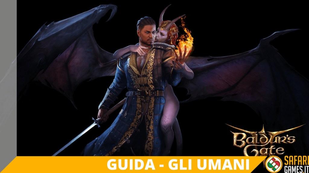Baldur's Gate 3 - Gli Umani