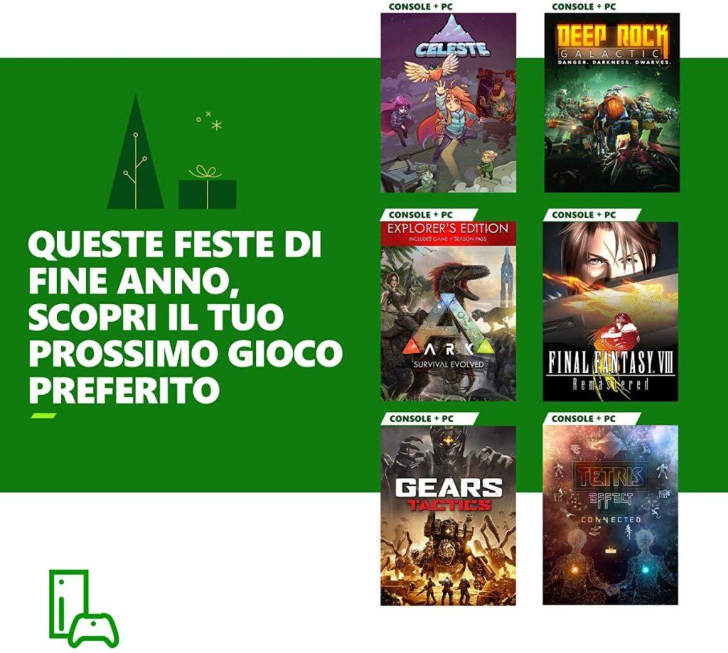 xbox game pass console codice 3 mesi