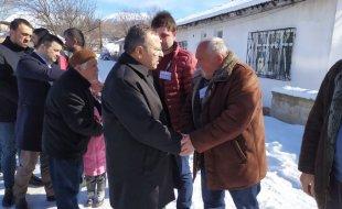 Ak parti Milletvekili Av.Yusuf Beyazıt ve Mustafa Aslan Şehit Osman Karacanın Ailesine Ziyarette Bulundu