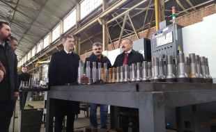 Ak parti Milletvekili Av.Yusuf Beyazıt Tuhal Şeker Makina Fabrikasında İncelemede Bulundu