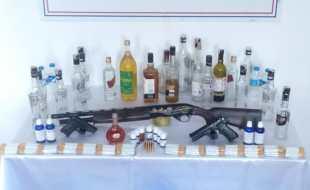 TOKAT İL JANDARMA KAÇAK ALKOL ÜRETİCİLERİNİ YAKALADI