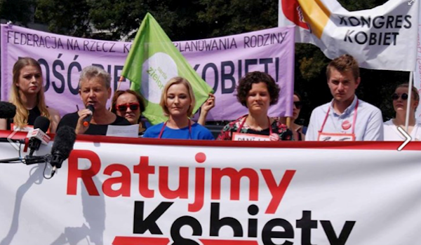 """""""Save the Women"""" legal initiative tabled in Polish Parliament"""
