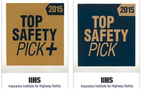 The IIH'S Top Safety Picks for 2015