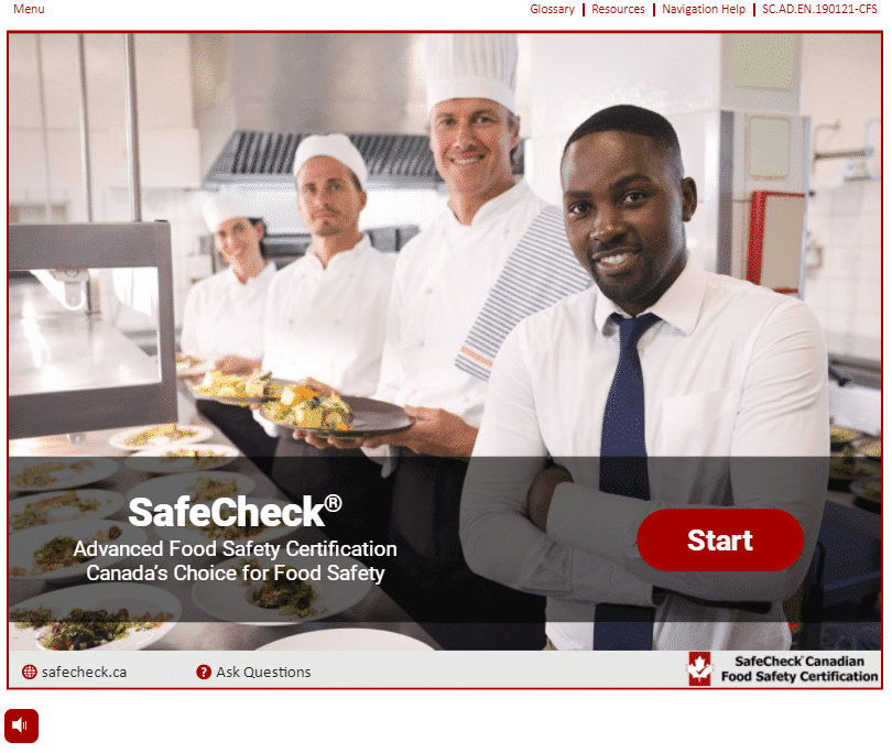 Food Handler Certificate Course - English 1