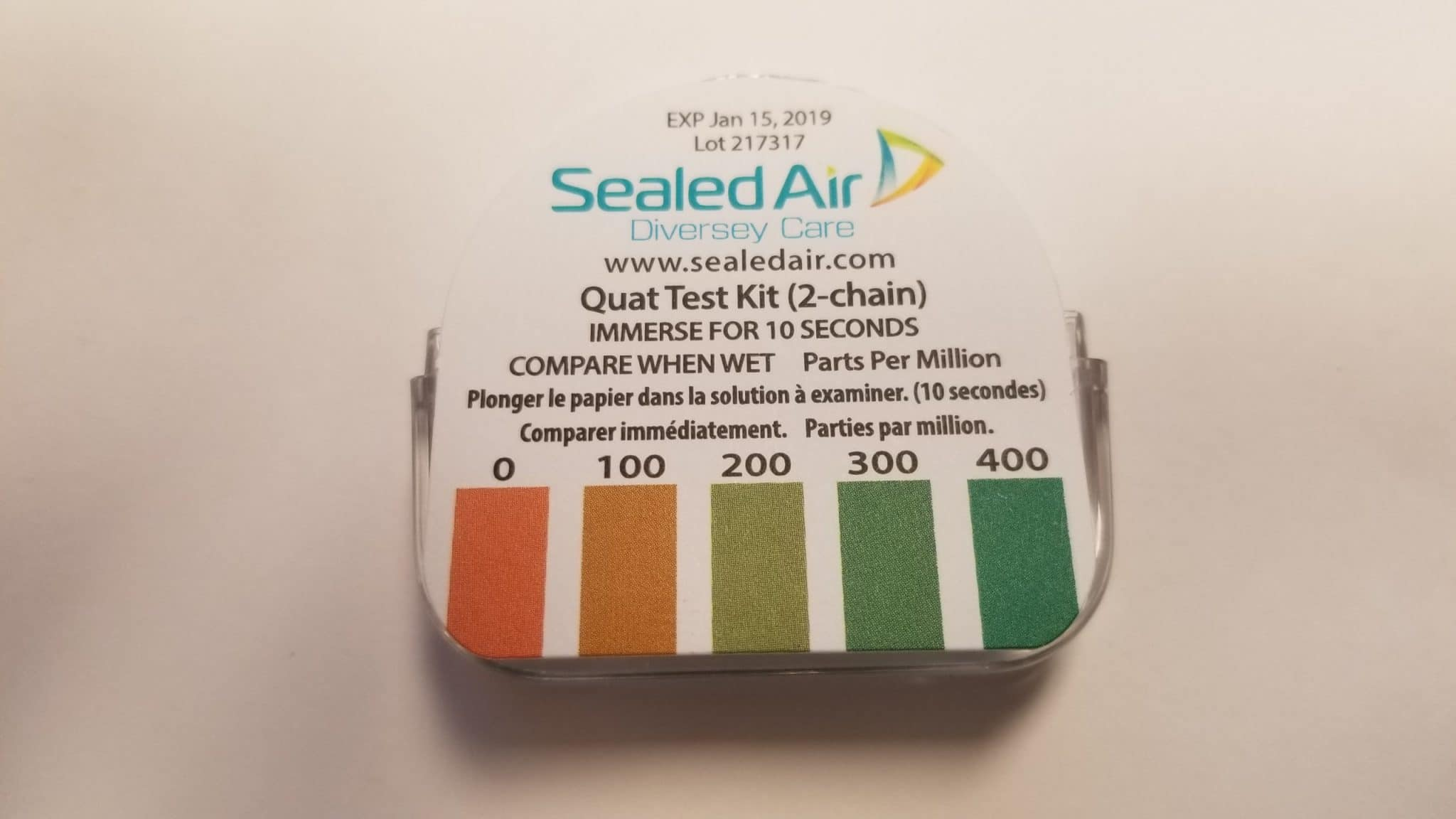 QT-10 Test Strips