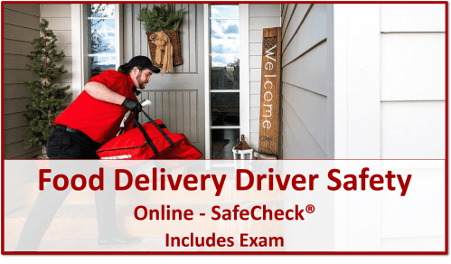 SafeCheck Food Delivery Driver Safety
