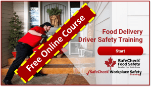Food Delivery Driver Training in A COVID-19 World