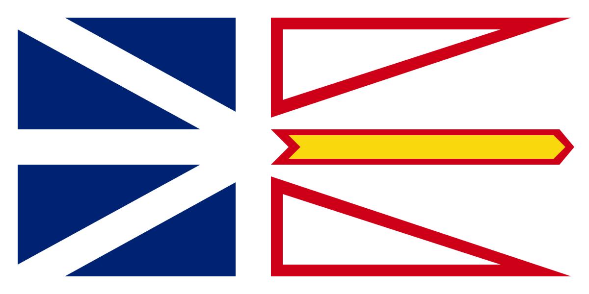 Newfoundland and Labrador - Flag