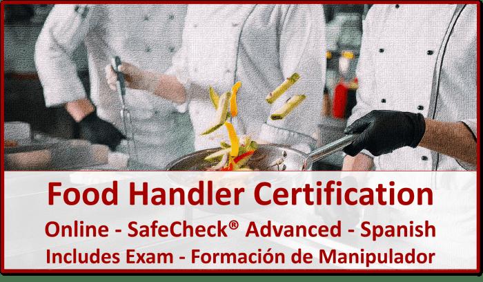 Food Handler Certification - Spanish Language Course