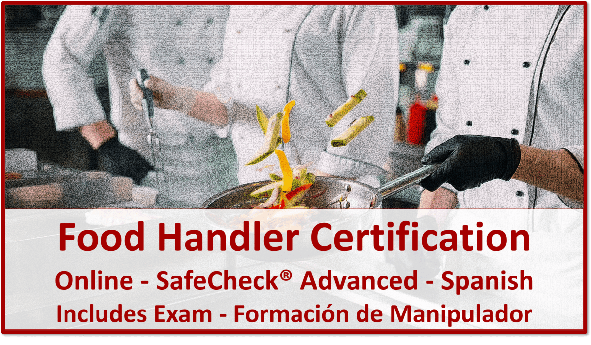 Food Handler Certification - Spanish Language Course