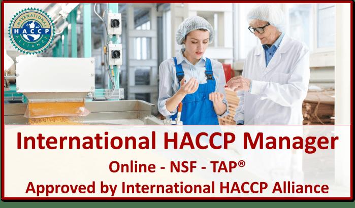 TAP NSF HACCP