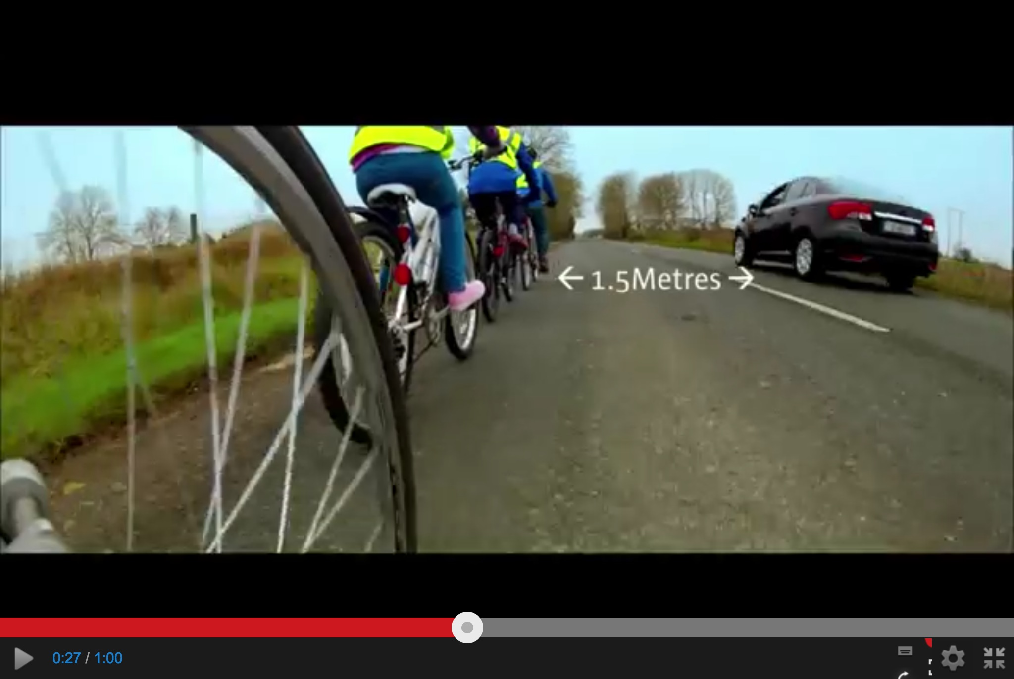 Making cycling safer