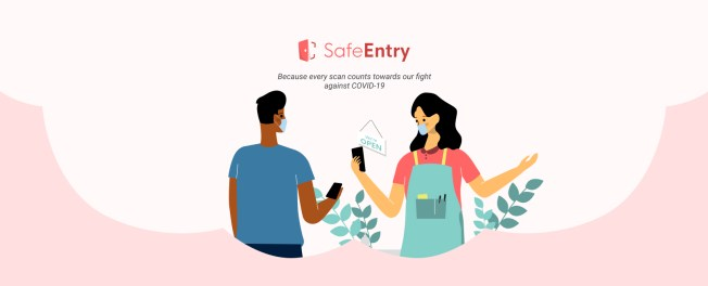 SafeEntry - National digital check-in system