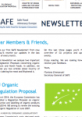 SAFE Newsletter First Page