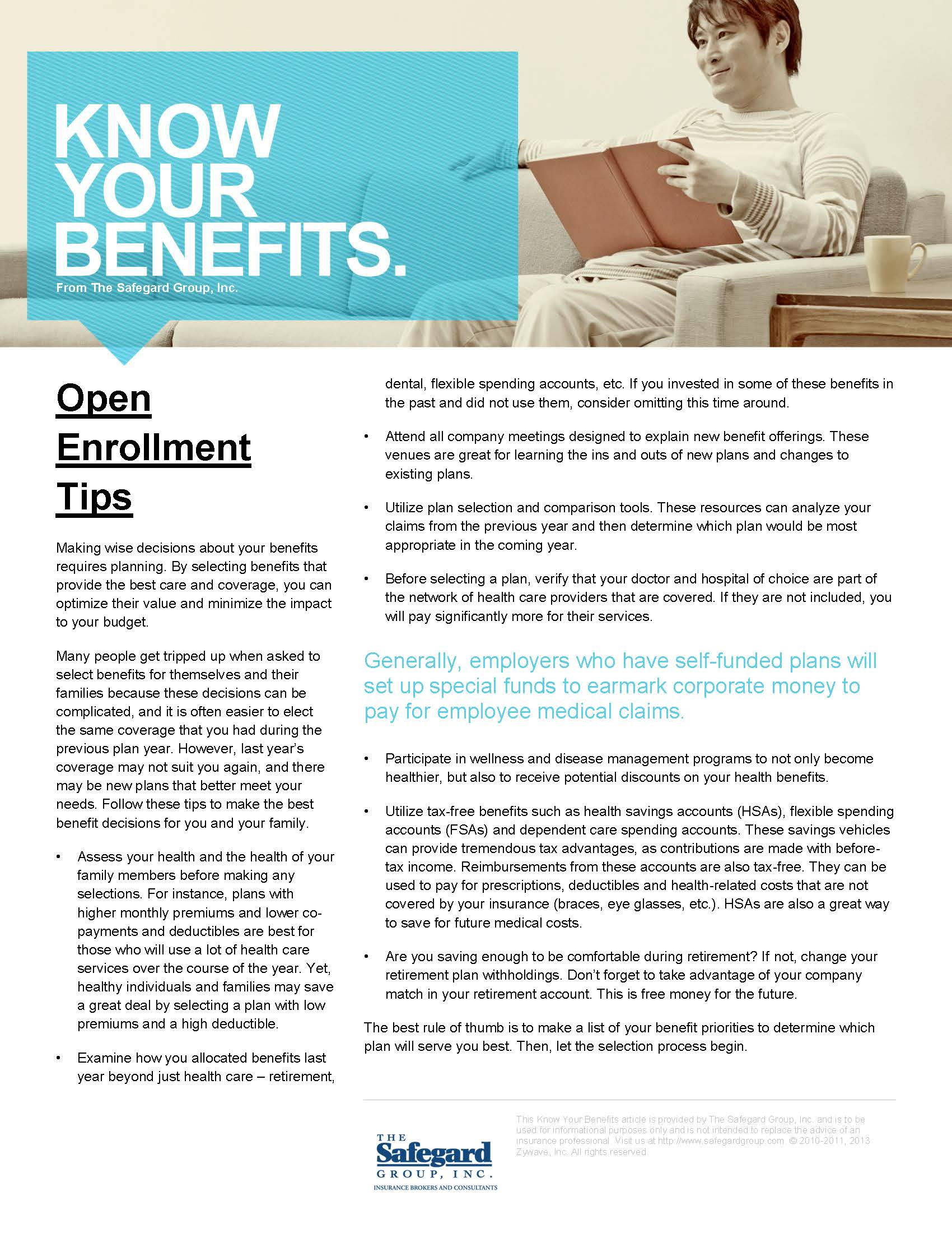 acupofcoco.co |Sample Open Enrollment Brochure