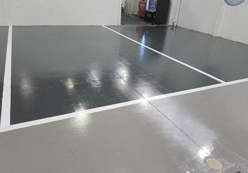 smash repair shop flooring