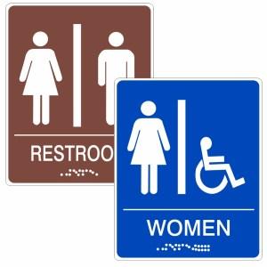 Restroom / ADA Signs