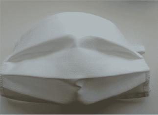 mascherina chirurgica lavabile-fronte
