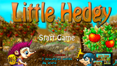 Adventure Games   Safe Kid Games Little Hedgy