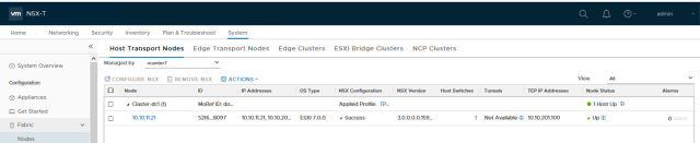 NSX-T Transport Node