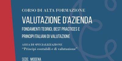 Valutazione d'azienda – Modena – 2019 / 2020