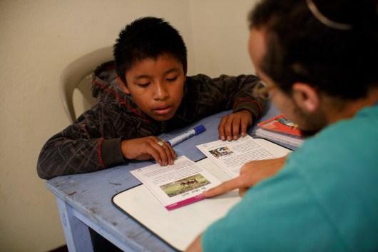 Beth Price - volunteer tutoring