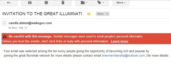 Scammers-Send-Out-Emails-Asking-Users-to-Join-the-Illuminati