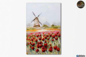 تابلوهات مودرن زهور و ورود حمراء