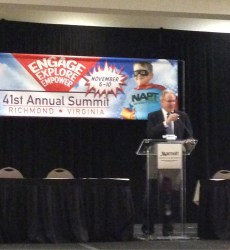 NHTSA Head Announces Agency's Strong Support of  Lap-Shoulder Belts on All School Buses