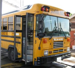 SRN Surveys RF CR Fit on School Buses
