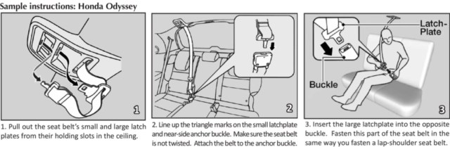 Honda Dual-Latchplate Instructions