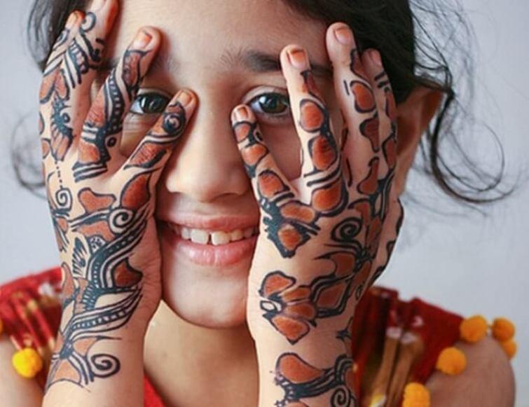 65 Gambar Henna Art Pengantin Tangan Dan Kaki Sederhana Terbaru