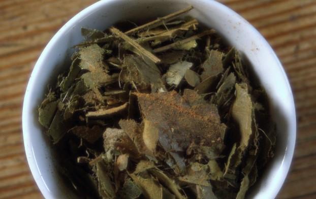 daun sirsak kering jadi teh