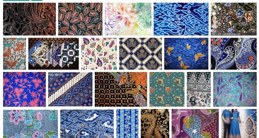 20 Macam Motif Batik Indonesia Yang Paling Terkenal Se Nusantara