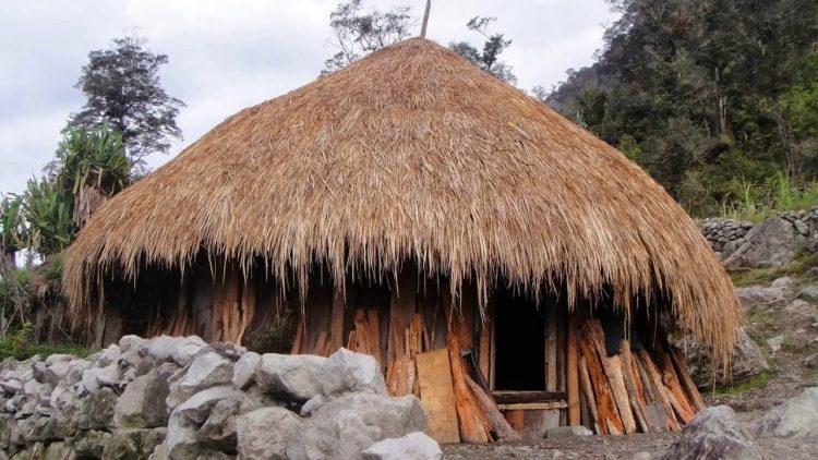 Rumah adat Honai Papua