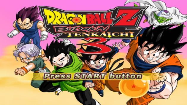 Dragon Ball Z Budokai Tenkaichi 3 PS2 ISO Highly Compressed